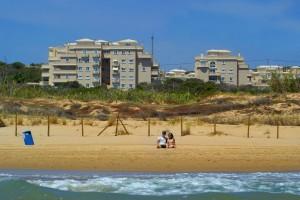 Leiligheten sett fra stranda
