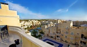Utsikt over leilighetskomplekset Portico Mar
